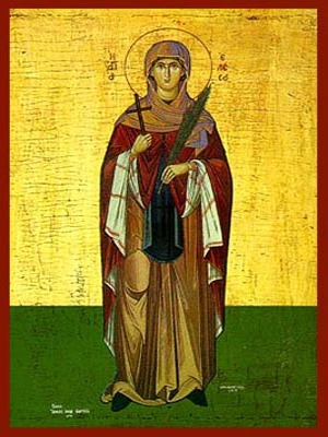 SAINT ELESA OF CYTHERA, FULL BODY
