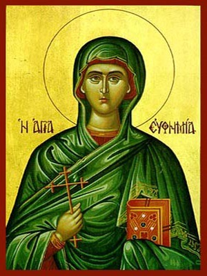 SAINT EUPHEMIA, THE GREAT MARTYR