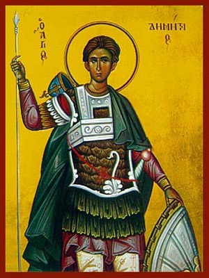 SAINT DEMETRIUS THE MYRRH-GUSHER