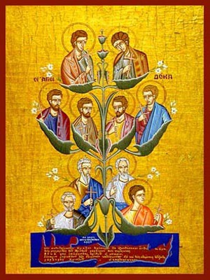 TEN SAINTS OF CRETE, GREECE