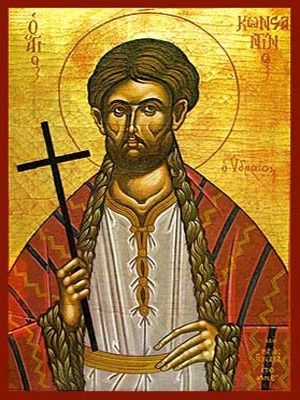 SAINT CONSTANTINE, THE NEW MARTYR, OF HYDRA, GREECE