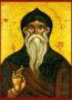 SAINT THEODOSIUS, THE CENOBIARCH - Icon Print on Paper, 10×14cm / 4×5,6in