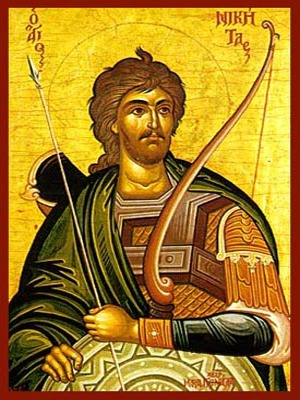 SAINT NICETAS, THE GREAT MARTYR