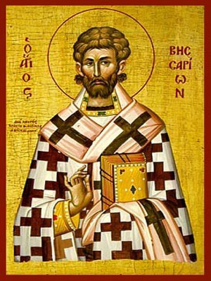 SAINT BESSARION, ARCHBISHOP OF LARISA, GREECE