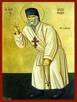 SAINT SERAPHIM, OF SAROV, FULL BODY