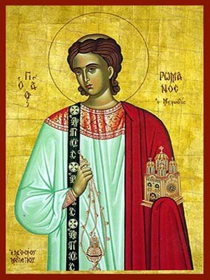 SAINT ROMANUS, THE MELODIST (SWEET-SINGER) OF CONSTANTINOPLE
