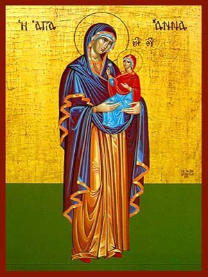 SAINT ANNE WITH VIRGIN, FULL BODY