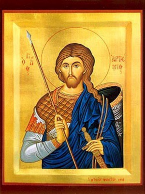 SAINT ARTEMIUS, THE GREAT MARTYR, AT ANTIOCH