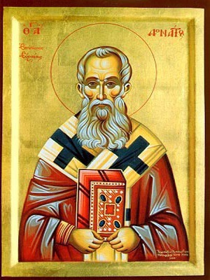 SAINT DONATUS, BISHOP OF EUROEA IN EPIRUS, GREECE