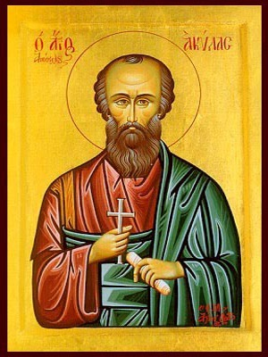 SAINT AQUILA THE APOSTLE