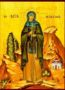 SAINT MACRINA, SISTER OF SAINT BASIL THE GREAT, FULL BODY