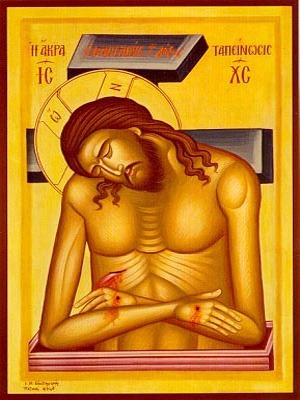 EXTREME HUMILITY: CHRIST, MAN OF SORROWS