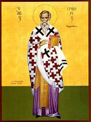 SAINT GREGORY, BISHOP OF AGRIGENTUM, FULL BODY