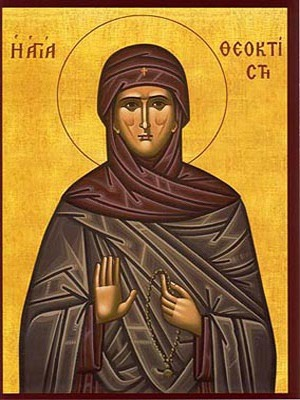 SAINT THEOCTISTE, OF LESBOS, GREECE