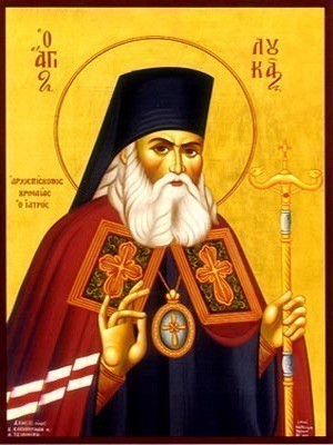 SAINT LUKE, ARCHBISHOP-SURGEON OF SYMFEROPOL, CRIMAEA