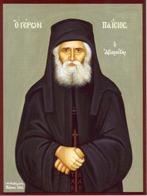 MONK PAISIOS, OF THE HOLY MOUNTAIN, ATHOS, GREECE