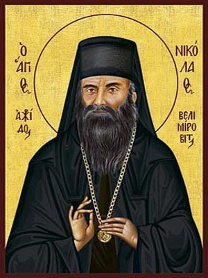 SAINT NICHOLAS VELIMIROVICH, BISHOP OF OHRID IN THE SERBIAN ORTHODOX CHURCH