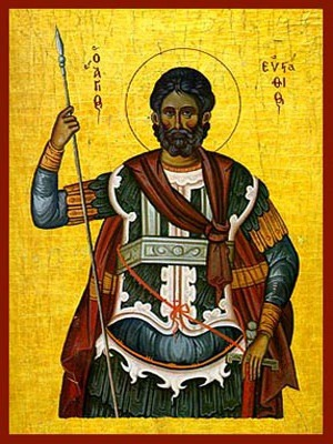 SAINT EUSTATHIUS PLACIDAS, THE GREAT MARTYR
