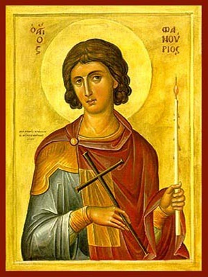 SAINT PHANURIUS, THE GREAT MARTYR