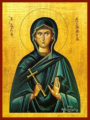 SAINT EUGENIA, NUN-MARTYR, OF ROME