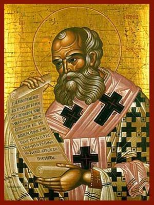 SAINT ATHANASIUS THE GREAT, PATRIARCH OF ALEXANDRIA
