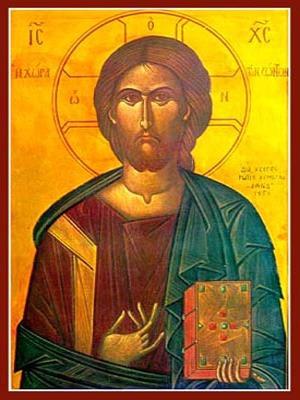 CHRIST BLESSING, LAND OF THE LIVING