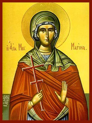 SAINT MARINA, THE GREAT MARTYR, OF ANTIOCH