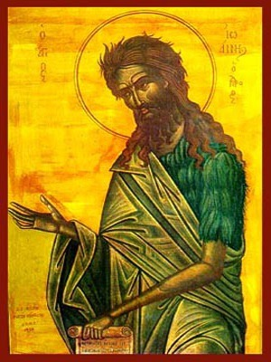 SAINT JOHN THE FORERUNNER, SUPPLICATING