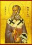 SAINT ATHANASIUS THE GREAT, PATRIARCH OF ALEXANDRIA - Icon Print on Paper, 30x40cm / 11,8x15,7in