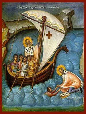 SAINT NICHOLAS, HELP OF MARINERS