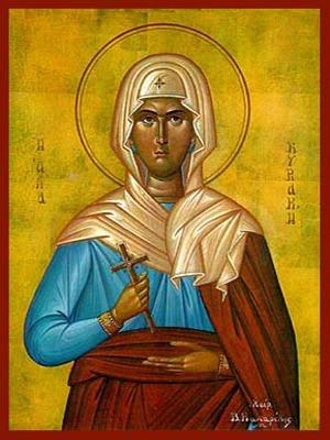 SAINT CYRIACA, MARTYR