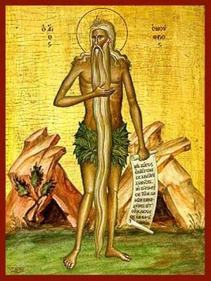 SAINT OΝUPHRIUS OF EGYPT, FULL BODY