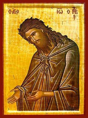 SAINT JOHN THE FORERUNNER, SUPPLICATING