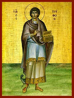 SAINT TRYPHON, MARTYR, FULL BODY