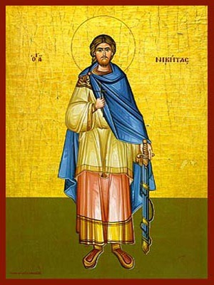SAINT NICETAS, THE GREAT MARTYR, FULL BODY