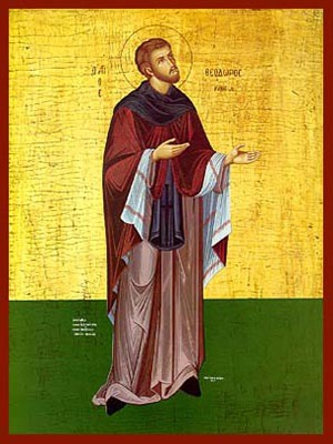 SAINT THEODORE, OF CYTHERA, GREECE, FULL BODY
