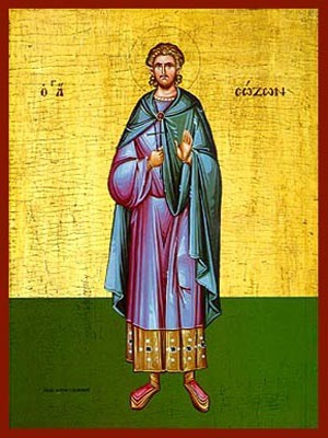 SAINT SOZON, MARTYR, OF CILICIA, FULL BODY