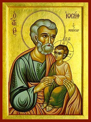 SAINT JOSEPH, THE BETROTHED