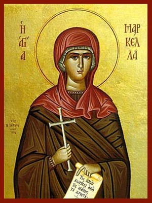 SAINT MARCELLA, MARTYR, OF CHIOS, GREECE