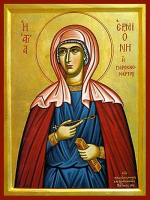 SAINT HERMIONE, VIRGIN-MARTYR