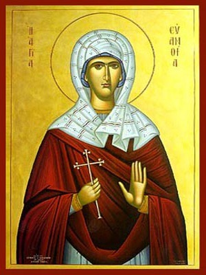 SAINT EUANTHIA, AT SKEPSIS ON THE HELLESPONT