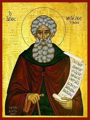 SAINT MELETIUS, THE NEW, OF GREECE