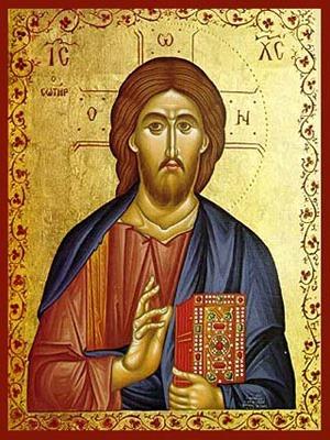 CHRIST BLESSING, THE SAVIOUR