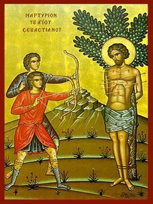 SAINT SEBASTIAN: THE MARTYRDOM