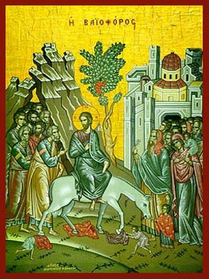 ENTRY INTO JERUSALEM (PALM SUNDAY)