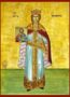 SAINT THEODORA, THE EMPRESS OF BYZANTIUM, FULL BODY