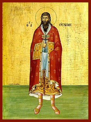 SAINT EUSTRATIUS, MARTYR, FULL BODY