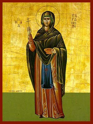 SAINT PARASCEVE, THE GREAT MARTYR,OF ROME, FULL BODY