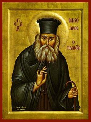 SAINT NICHOLAS PLANAS, PRIEST IN ATHENS, GREECE