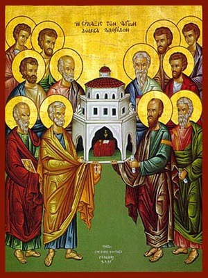 SYNAXIS OF THE HOLY TWELVE APOSTLES